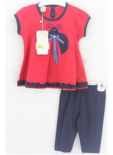 Sema Bebe Deco Sport Kız Takım Kız Çocuk Giyim Kırmızı